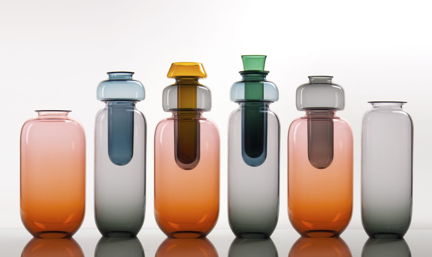 Glass Vessels by Brad Turner titled Redundant Vessels